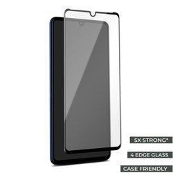 PURO Frame Tempered Glass - Szkło ochronne hartowane na ekran Huawei Mate 20 (czarna ramka)