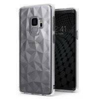 Ringke Air Prism designerskie żelowe etui pokrowiec 3D Samsung Galaxy S9 G960 przezroczysty  (APSG0017-RPKG)