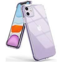 Ringke Fusion etui pokrowiec z żelową ramką iPhone 11 przezroczysty (FSAP0040)