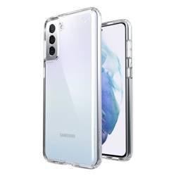 Speck Presidio Perfect-Clear - Etui Samsung Galaxy S21+ z powłoką MICROBAN (Clear/Clear)