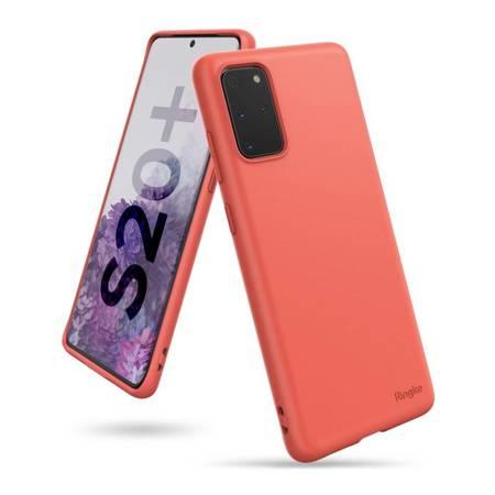 Ringke Air S ultracienkie żelowe etui pokrowiec Samsung Galaxy S20 Plus koralowy (ADSG0012)