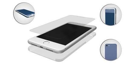 SZKŁO HYBRYDOWE 3MK FLEXIBLE GLASS 3D IPHONE 7/8